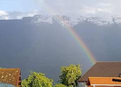Ciel Albertville 73200 Arc en ciel Savoie.