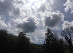 Nuages Melisey 70270 Cumul de nuages