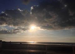 Nuages Trouville-sur-Mer 14360 Le crépuscule Normand