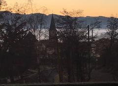 Ciel Brullioles 69690 Brullioles le matin