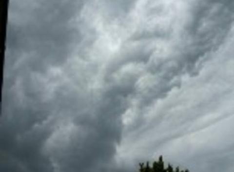 Drôle de formation de nuages