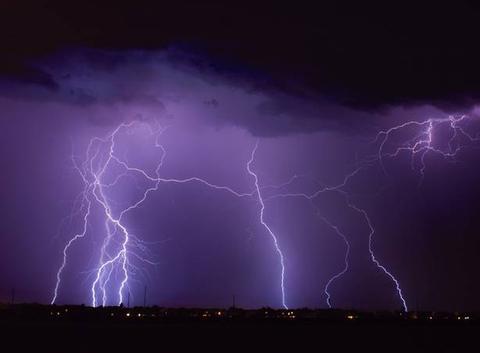 Violant orage