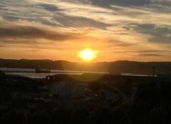Ciel Marseille 13015 Coucher du soleil