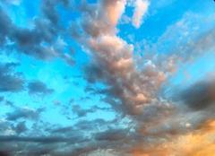 Ciel Blagnac 31700 Contraste de couleurs