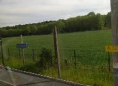 Nuages Bievres 91570 Ce couvre peu à peu l'orage arrive sur l'Essonne