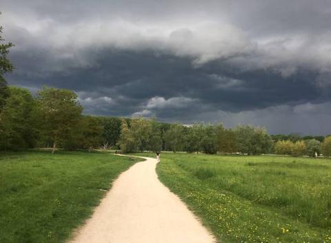 Chartres avant la dégradation orageuse