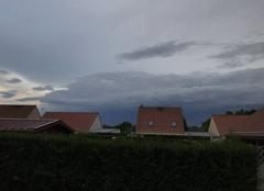Orage Bully-les-Mines 62160 L'orage arrive