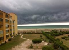 Nuages Le Barcares 66420 Grande plage