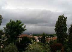Orage Rosny-sous-Bois 93110 Ciel menaçant
