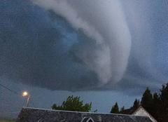 Orage Goudelancourt-les-Pierrepont 02350 Front orageux
