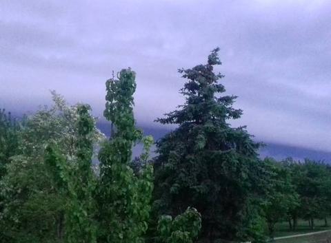 Le orage arrive