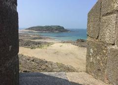 Mer Saint-Malo 35400 Vue depuis les remparts