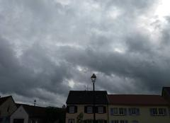 Pluie Sarrewerden 67260 Journée pluvieuse en Alsace.