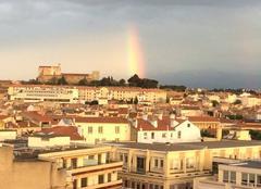 Ciel Perpignan 66100 Superbe vue ce soir à Perpignan