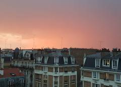 Ciel Paris-18 75018 Ciel rose à paris 18éme