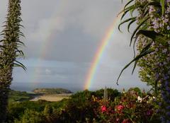 Pluie Crozon 29160 Temps à averses sur l'ile de l'aber