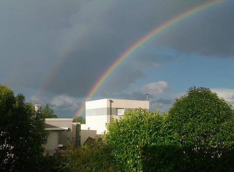 Magnifique double Arc-En-Ciel