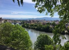 Nuages Romans-sur-Isere 26100 Ciel se voilant progressivement sur l'Isère