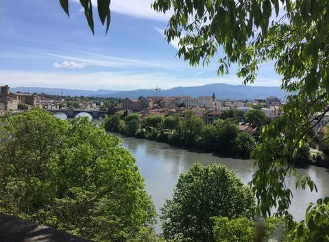 Ciel se voilant progressivement sur l'Isère