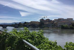 Ciel Romans-sur-Isere 26100 Ciel et voilé sur les quais