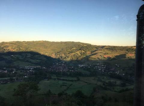 Marin calme sur le vallon de marcillac