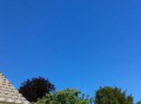 Tempête de ciel bleu