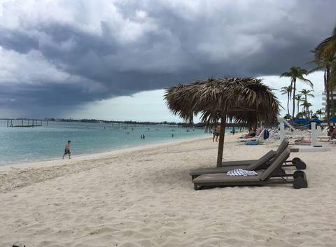 Orage à Nassau