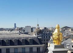 Ciel Paris-09 75009 Sur les toits de Paris