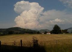 Nuages Ispoure 64220 Grosse nuages