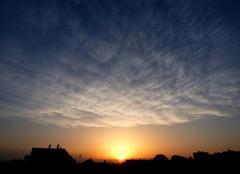 Ciel Niort 79000 Magnifique coucher de soleil