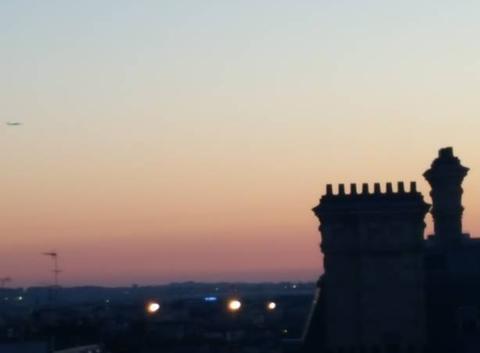 Ciel des 5h30 Paris
