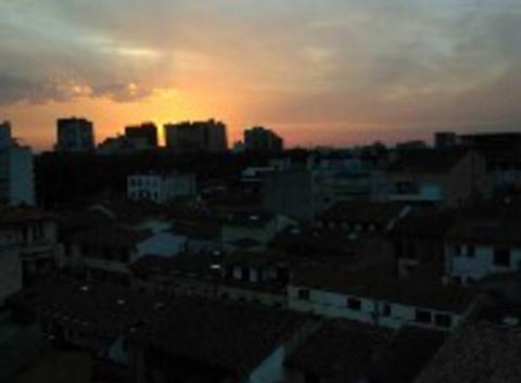 Couché de soleil Toulouse