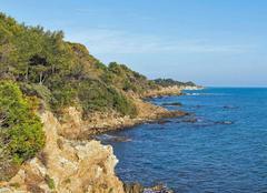 Mer Ramatuelle 83350 La baie des Roches Bleues