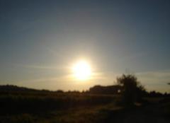Chaleur Gallargues-le-Montueux 30660 Lever du soleil