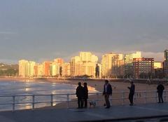 Ciel Gijón 33200 Coucher de soleil