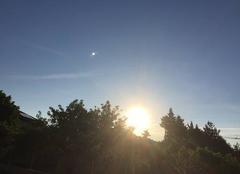 Ciel Mours-Saint-Eusebe 26540 Soleil levant