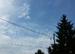 Chaleur Meriel 95630 Le ciel se voile