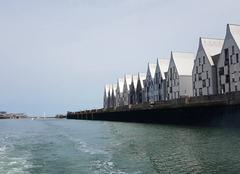 Mer Dunkerque 59140 Retour de pêche