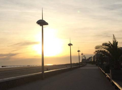 Esplanade de la mer