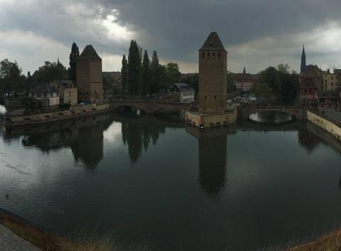 Strasbourg avant la pluie