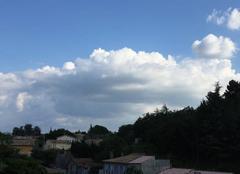 Nuages Château-Arnoux-Saint-Auban 04160 Après une chaleur