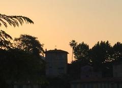 Ciel Menton 06500 Vue matinale depuis les Ciappes.