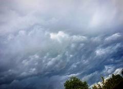 Nuages Coquelles 62231 Temps orageux sur coquelles