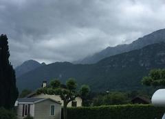 Nuages Doussard 74210 Au bout du lac d'Annecy