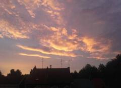 Ciel Lourches 59156 Coucher de soleil