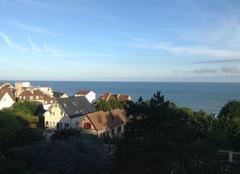 Ciel Villerville 14113 Lever de solei en Normandie