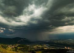 Orage Serrieres-de-Briord 01470 Ambiances orageuses de l'ain