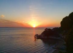 Ciel Meschers-sur-Gironde 17132 Coucher de soleil sur la Gironde