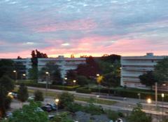 Ciel Lormont 33310 Magnifique lever de soleil