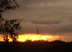 Ciel Favieres 28170 Coucher de soleil